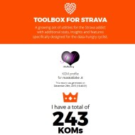 Toolbox for Strava